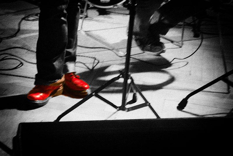 Leserfoto: Mit den Füßen im Jazz