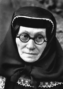 Margaret Bourke-White: Porträt von Stalins Mutter, Ekaterina Dzhugashvili (1858 – 1937) Tiflis,1931