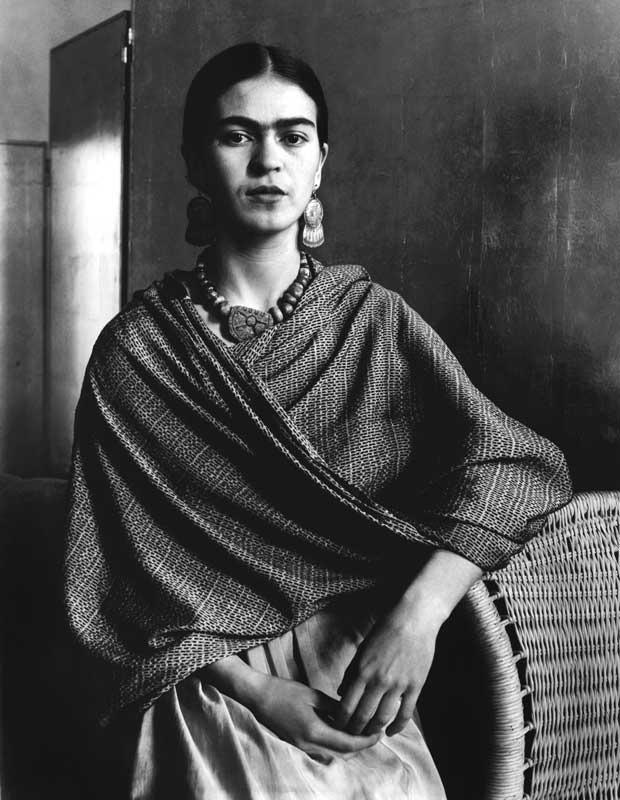 Frida Kahlo Rivera, Malerin und Ehefrau von Diego Rivera, 1931 © Imogen Cunningham Trust