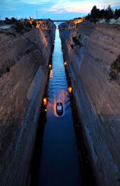 Korinth-Kanal (keystone)