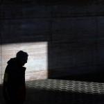 Spiel mit Lichtu und Schatten in Baltimore, USA (Keystone/AP Photo/Patrick Semansky)