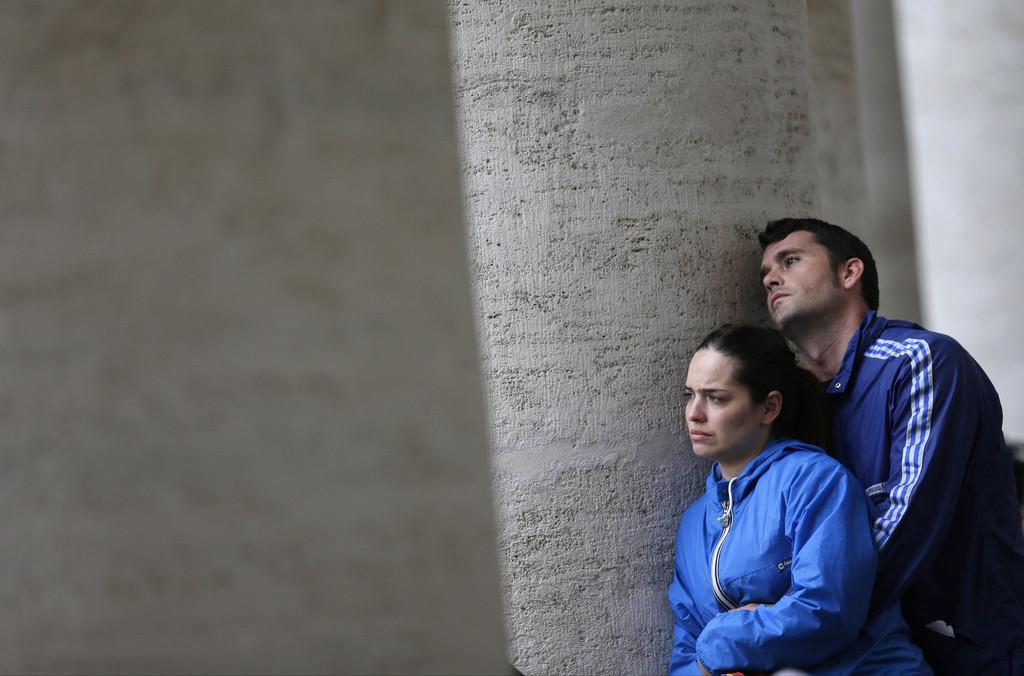 Warten auf den neuen Papst, Vatikan (Keystone/AP Photo/Alessandra Tarantino)