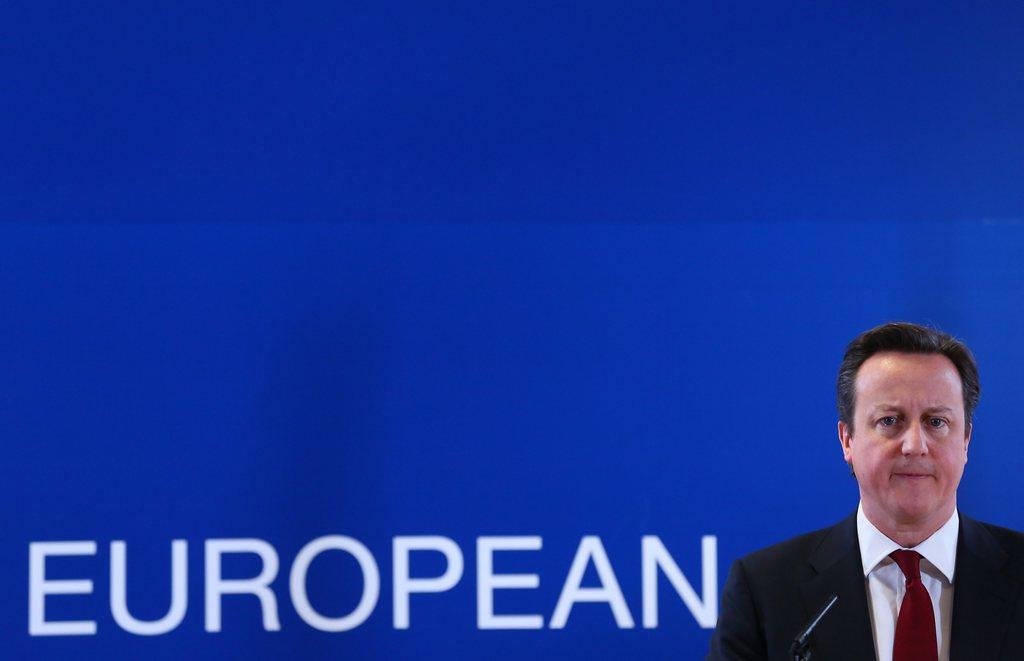 Im europäischen Abseits: David Cameron in Brüssel, Belgien. (Keystone/EPA/Julien Warnand)