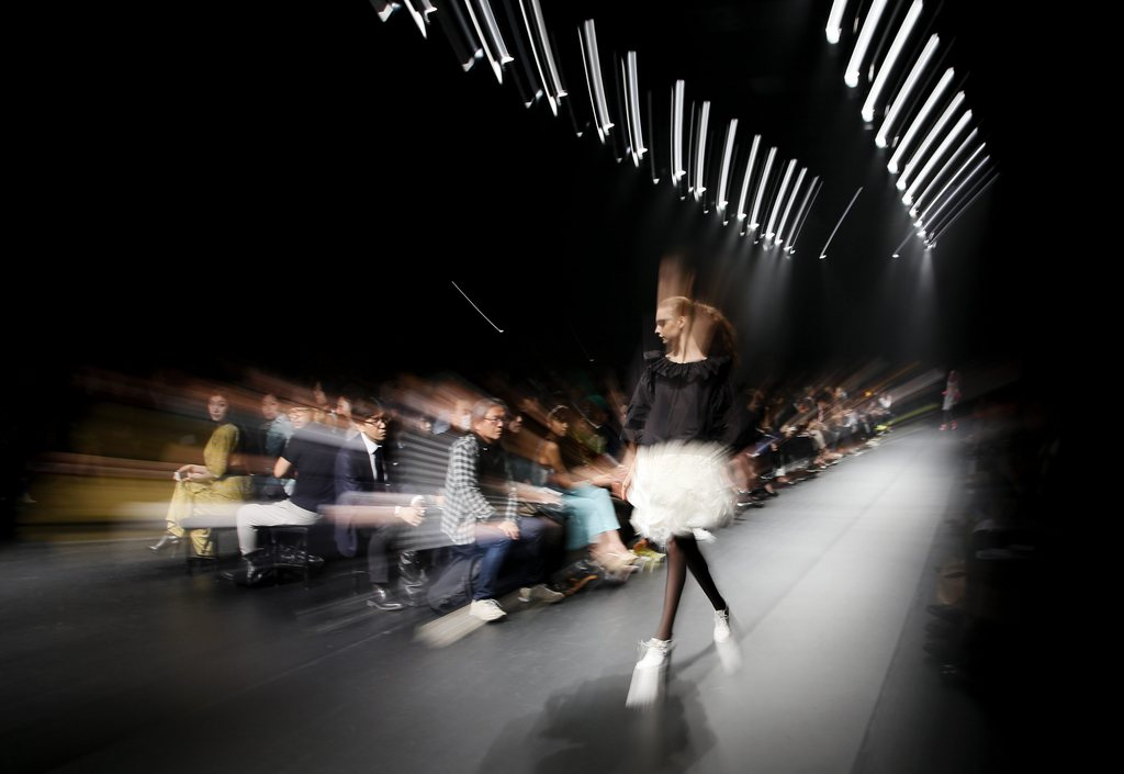 Internationale Modenschau in Tokyo, Japan (Keystone/EPA/Kimimasa Mayama)