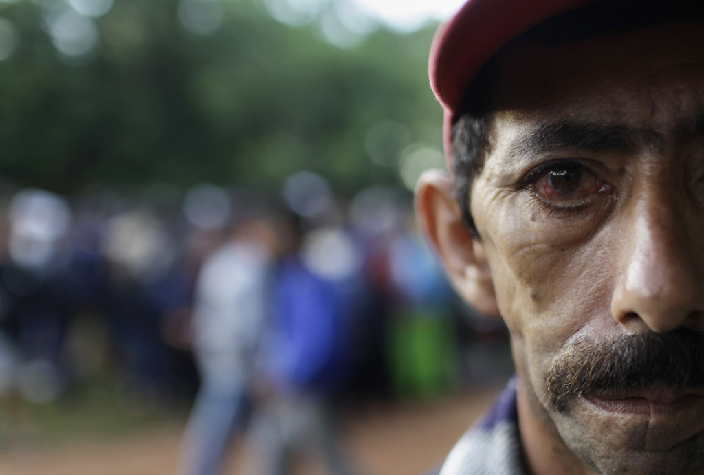 Julian Colman, ein Bauer aus Asuncion, Paraguay (Keystone/AP Photo/Jorge Saenz)