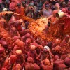 India Lathmar Holy Festival
