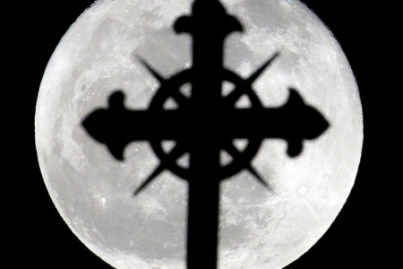 HOLY WEEK FULL MOON