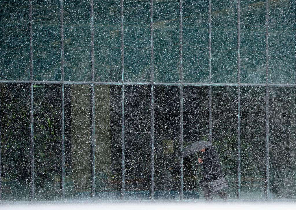 Schneesturm in Ottawa, Kanada (Keystone/AP Photo/The Canadian Press, Sean Kilpatrick)