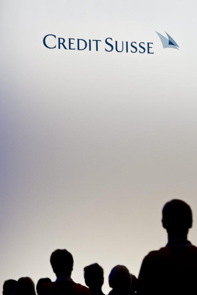 Hauptversammlung der Credit Suisse in Zürich, Schweiz (Keystone/Ennio Leanza)