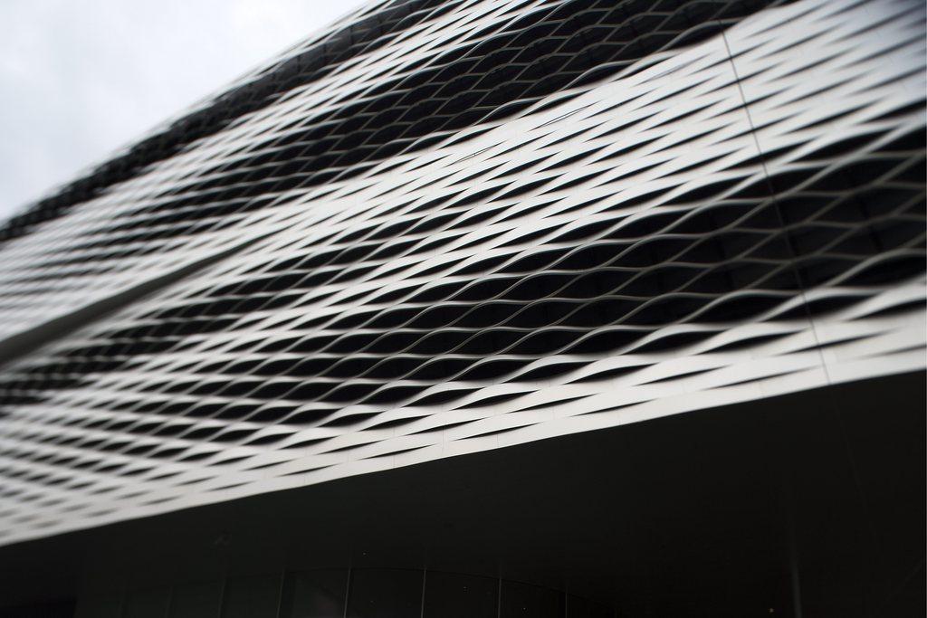 Die neue Messehalle in Basel, Schweiz (Keystone/Georgios Kefalas)