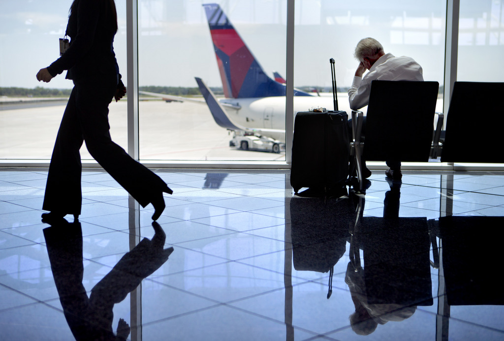 Auf dem Hartsfield-Jackson Flughafen in Atlanta, USA (Keystone/AP Photo/David Goldman)