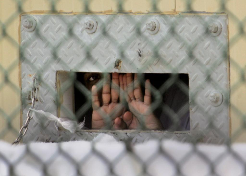 Hungerstreik in Guantanamo, Kuba (Keystone/AP Photo/Brennan Llinsley)