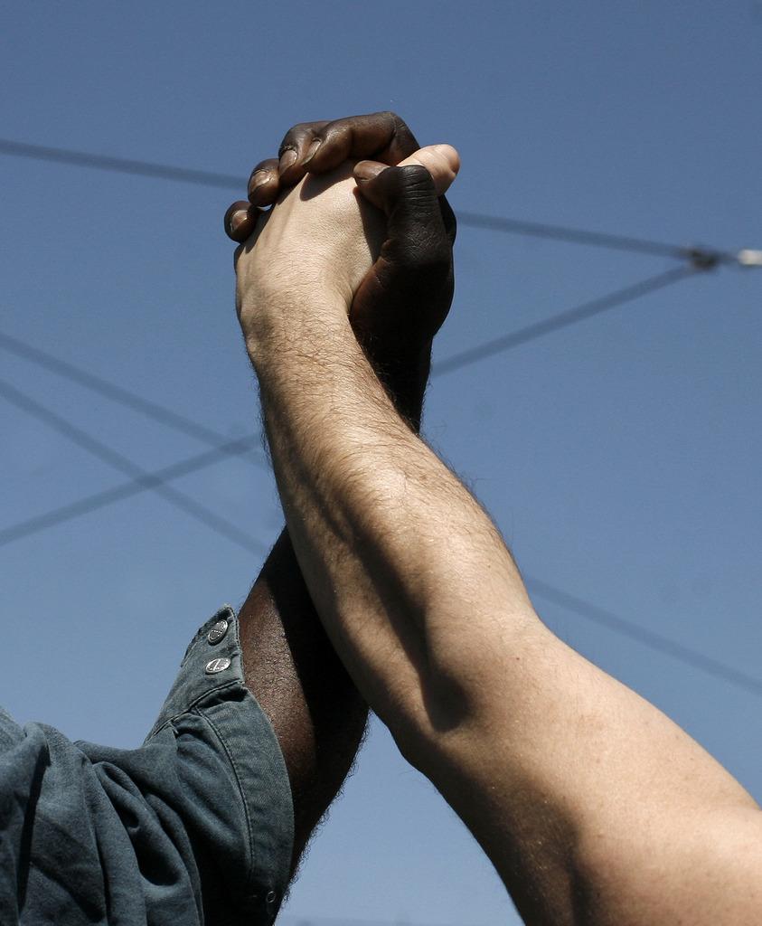 Bild des 1. Mai in Athen, Griechenland (Keystone/AP Photo/Fosphotos/Alexandros Katsis)