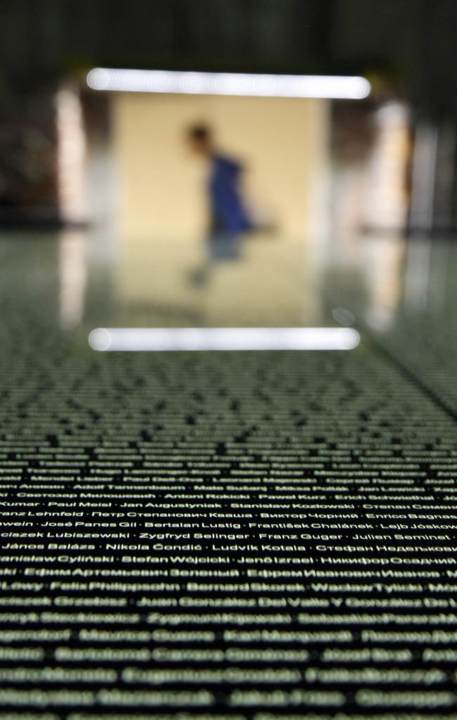 Erinnerung an die Opfer des Holocaust in Mauthausen, Österreich (Keystone/AP Photo/Ronald Zak)