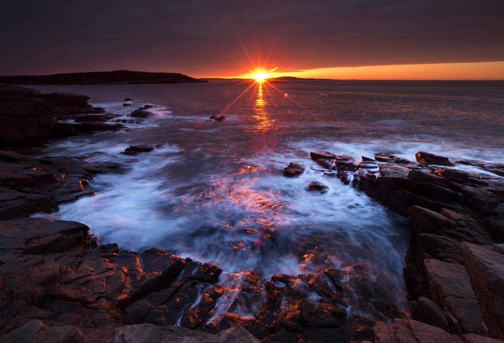 Die Küste das Acadia Nationalparks in Main, USA (Keystone/AP Photo/Robert F. Bukaty)