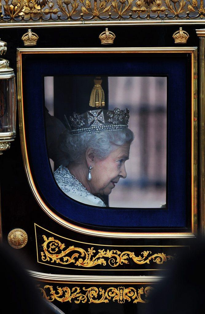 Das Portrait einer Königin aus London, Großbritannien (Keystone/EPA/Andy Rain)