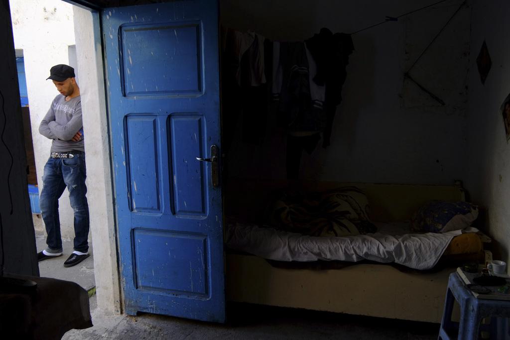 Im Slum von Tunis, Tunesien (Keystone/AP Photo/Ons Abid)