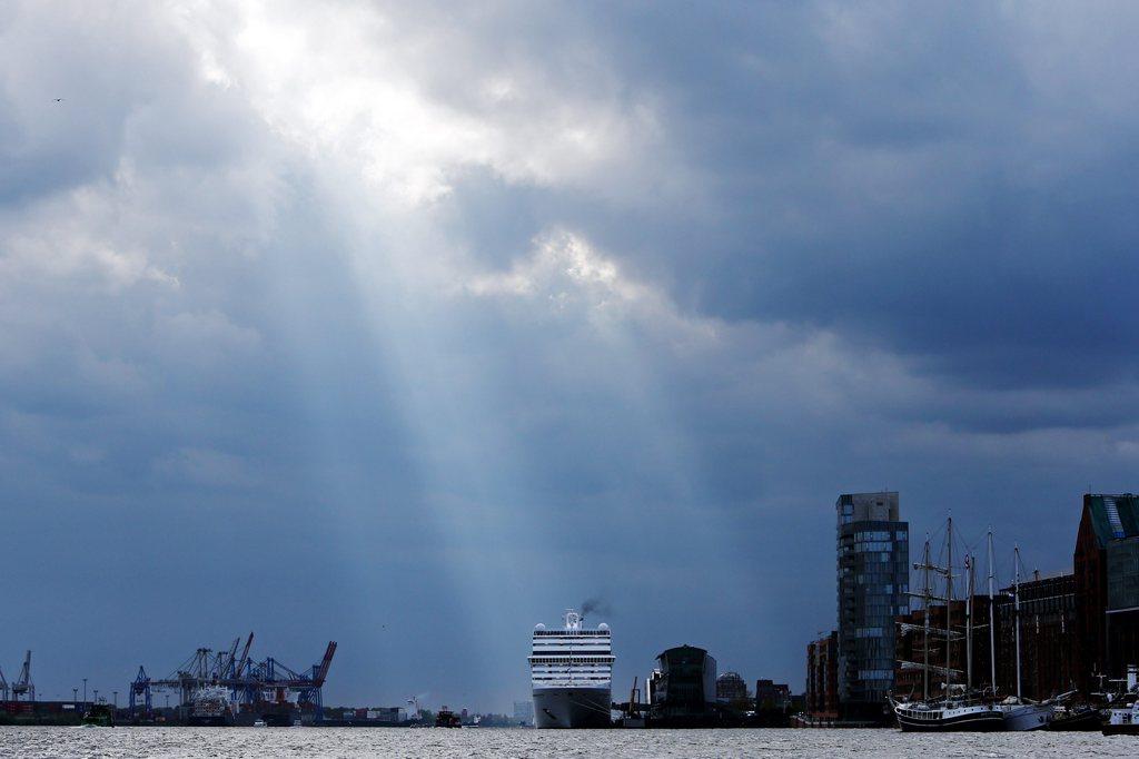 Im Hafen von Hamburg, Deutschland (Keystone/EPA/Malte Christians)