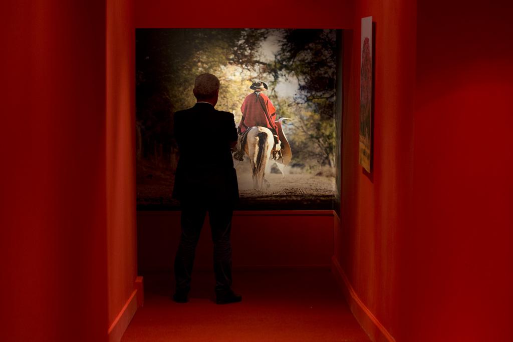 Ausstellung «Argentina, Il Gaucho, tradizione, Arte e Fede» im Vatikan (Keystone/AP Photo/Andrew Medichini)