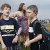 Schulkinder nach dem Tornado,  Oklahoma City USA (AP Photo/ The Oklahoman,  Paul Hellstern)
