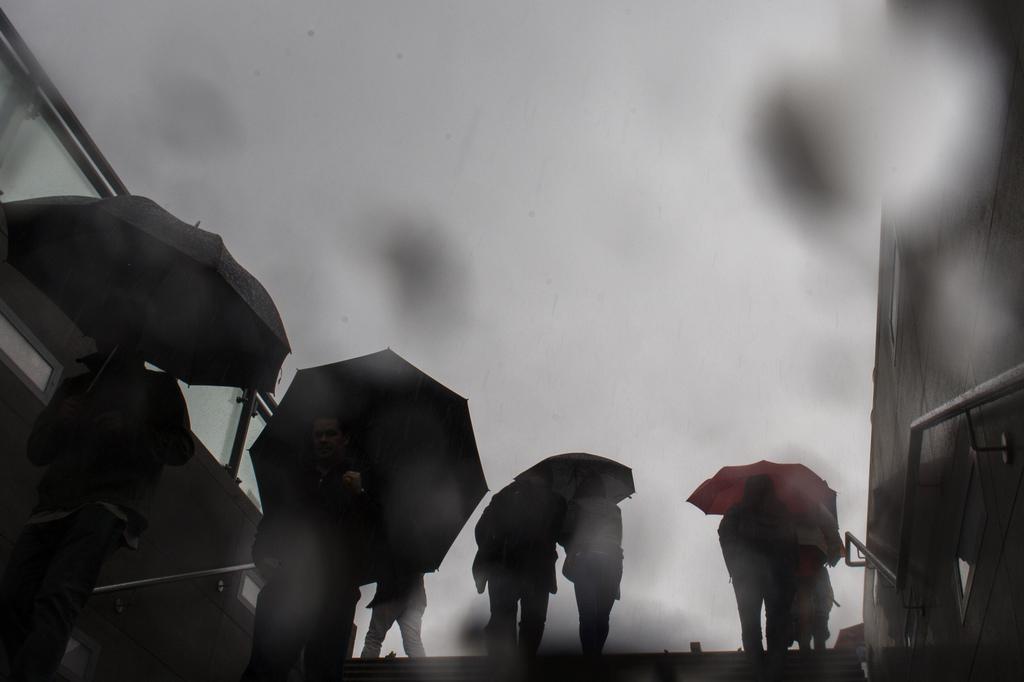 Regen in Mai in Berlin, Deutschland (Keystone/AP Photo/Markus Schreiber)