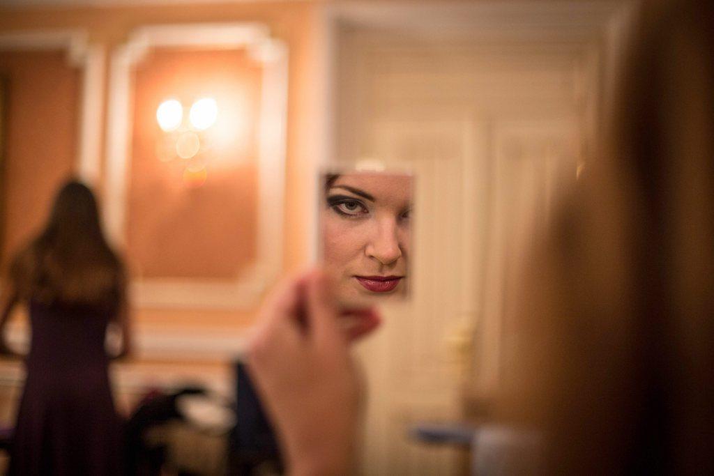 Schönheitswettbewerb in Moskau  EPA/SERGEI ILNITSKY
