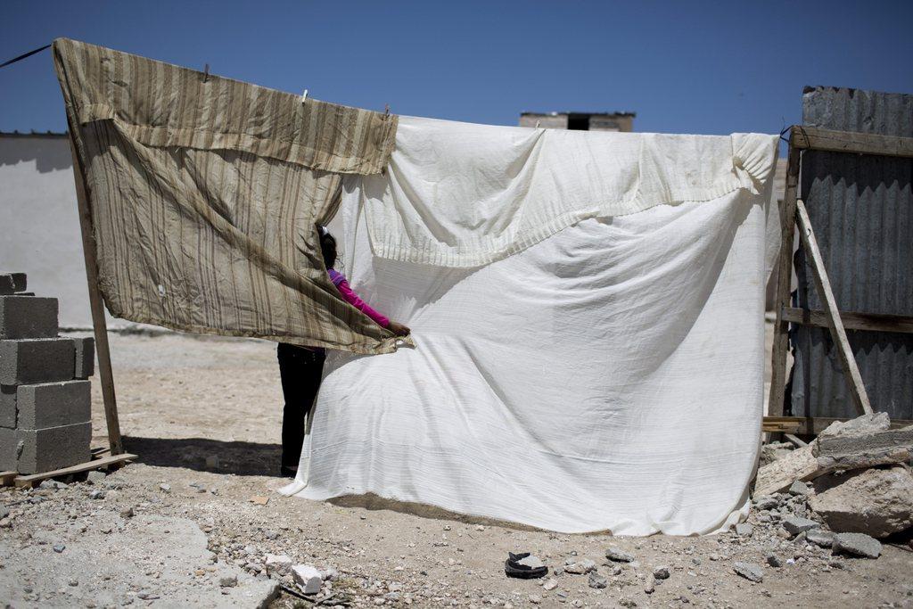 Kinderspiel in Palästina  EPA/ABIR SULTAN