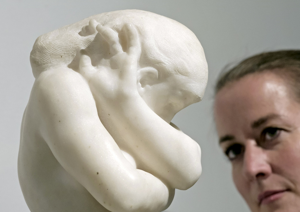 «Eva» von Auguste Rodin in Dresden, Deutschland (Keystone/AP Photo/Jens Meyer)