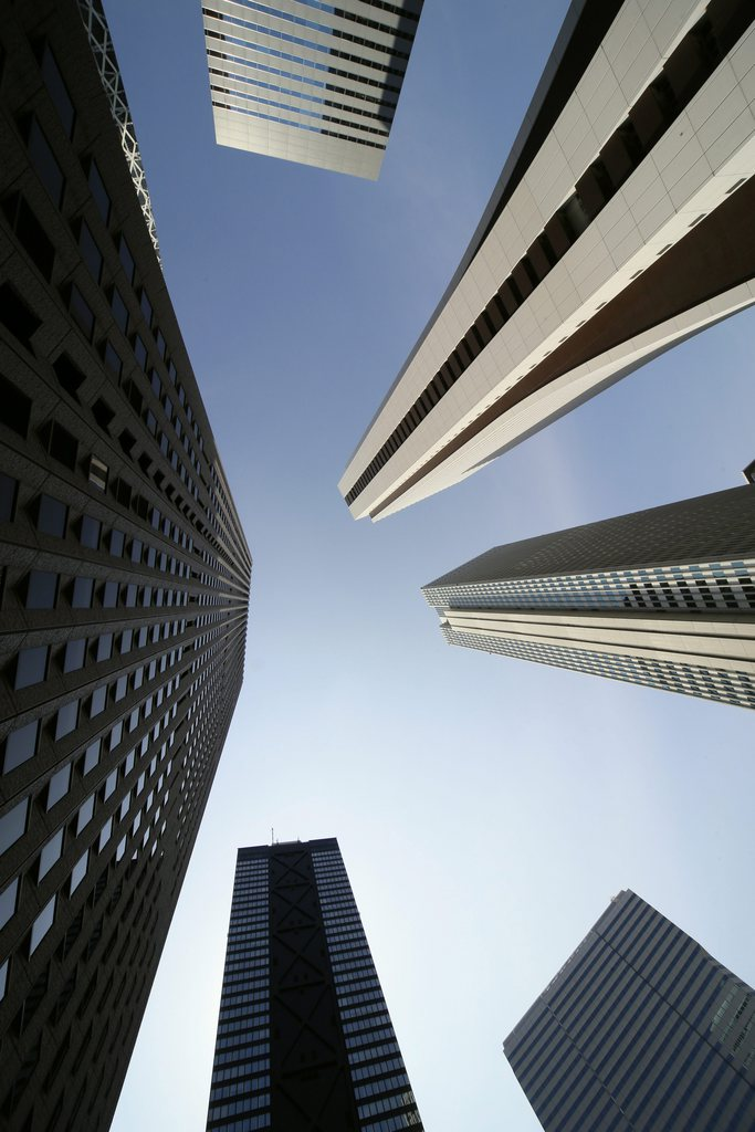 Hochhäuser in Tokyo, Japan (Keystone/EPA/Kimimasa Mayama)