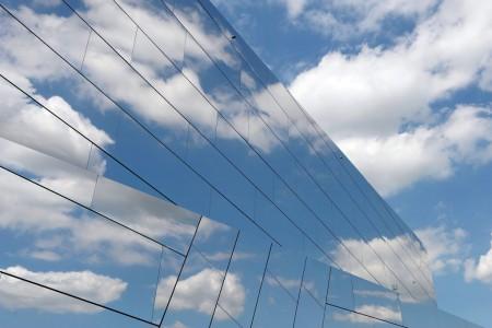 Wolken über einem Forschungszentrum in Schöningen, Deutschland (Keystone/EPA/Peter Steffen)