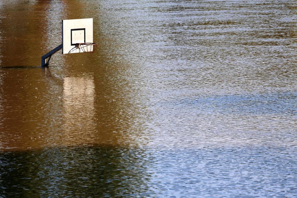 Hochwasser in Bernburg, Deutschland (Keystone/AP Photo/dpa, Jens Büttner)
