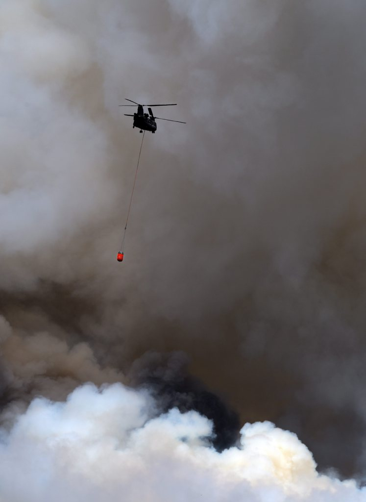 Waldbrand in Colorado, USA (Keystone/EPA/Bob Pearson)