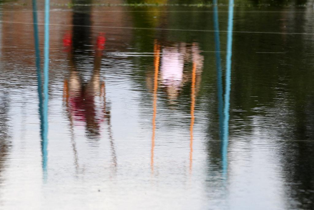 Hochwasser bei Banostor, Serbien (Keystone/AP Photo/Darko Vojinovic)