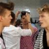 Models bei der Vorbereitung, Modewoche in London EPA/TAL COHEN