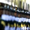 Ehrengarde in Beijing, China (Keystone/AP Photo/Andy Wong)