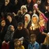 Schiitische Frauen und Kinder bei einem religösen Fest, Karbala Irak (AP Photo/ Hadi Mizban)