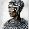 Rendille Tribe, Kenia 2011, Silver Gelatin Print, toned, Edition of 10, 50 x 60 cm, 77 x 86 cm © Jan C. Schlegel / Courtesy of Bernheimer Fine Art Photography