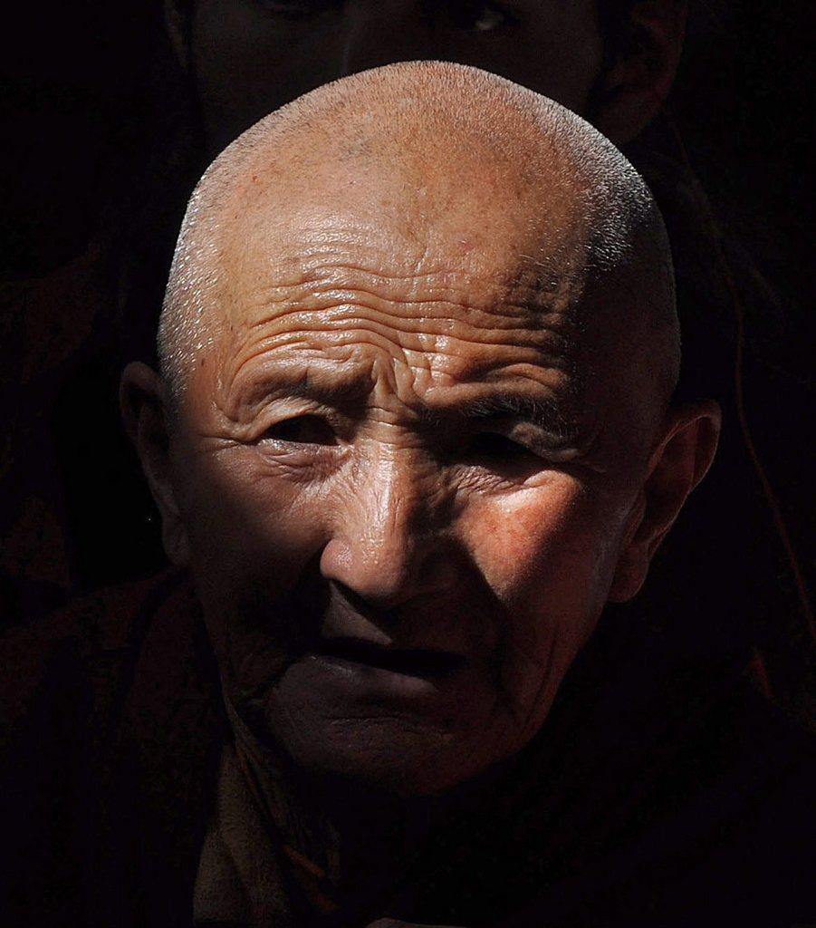 Nonne in Tibet EPA/SANJAY BAID