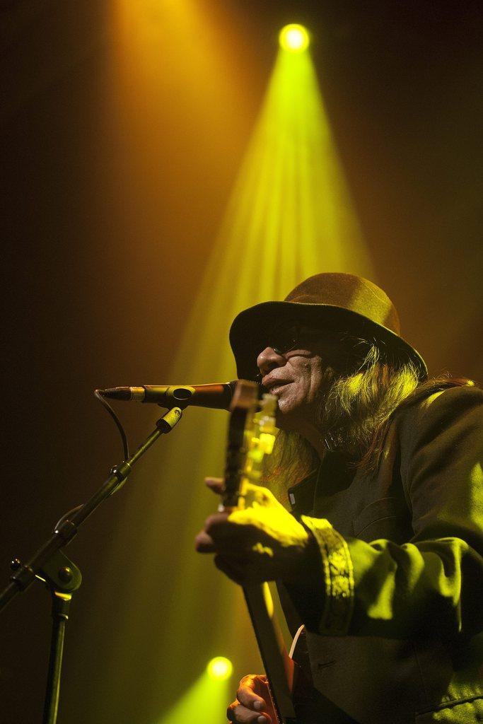 Sixto Rodriguez in Montreux, Schweiz (Keystone/Sandro Campardo)