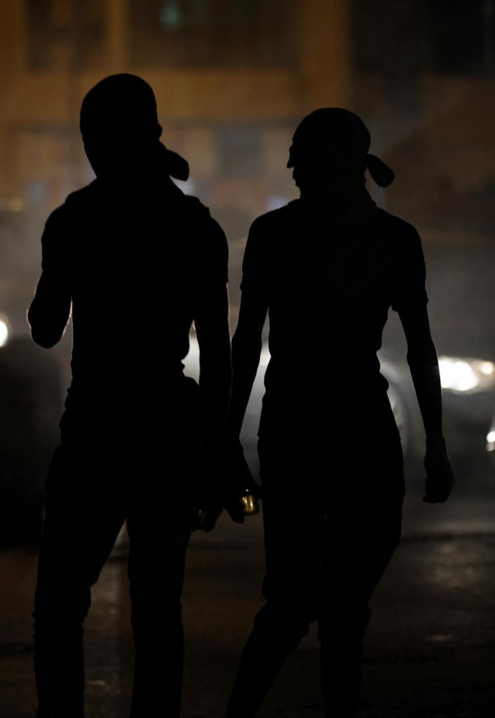 Nächtliche Unruhen in Bahrain  (AP Photo/Hasan Jamali)