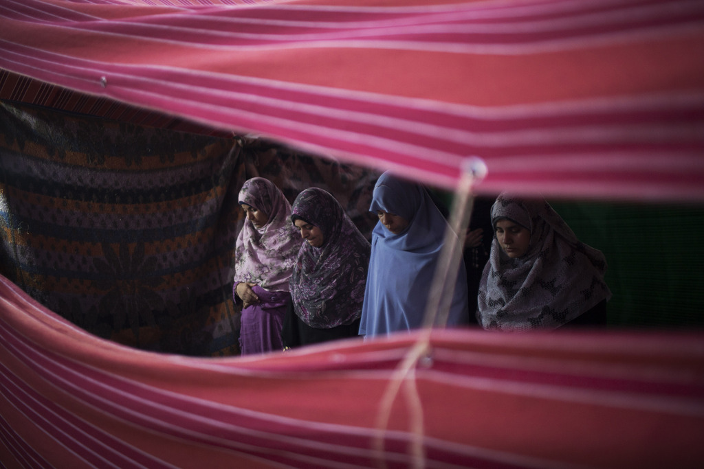 Ramadan, Freitagsgebet in Kairo Ägypten (AP Photo/Manu Brabo)