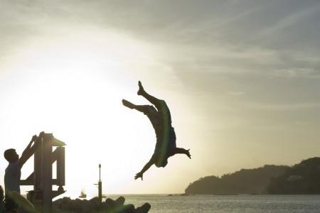 Lebensfreude am Strand von San Juan del Sur, Nicaragua (Keystone/AP Photo/Esteban Felix)