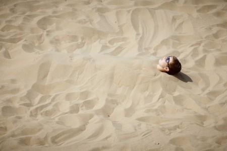 Am Strand von Scheveningen (Keystone/EPA/Martijn Beekman)