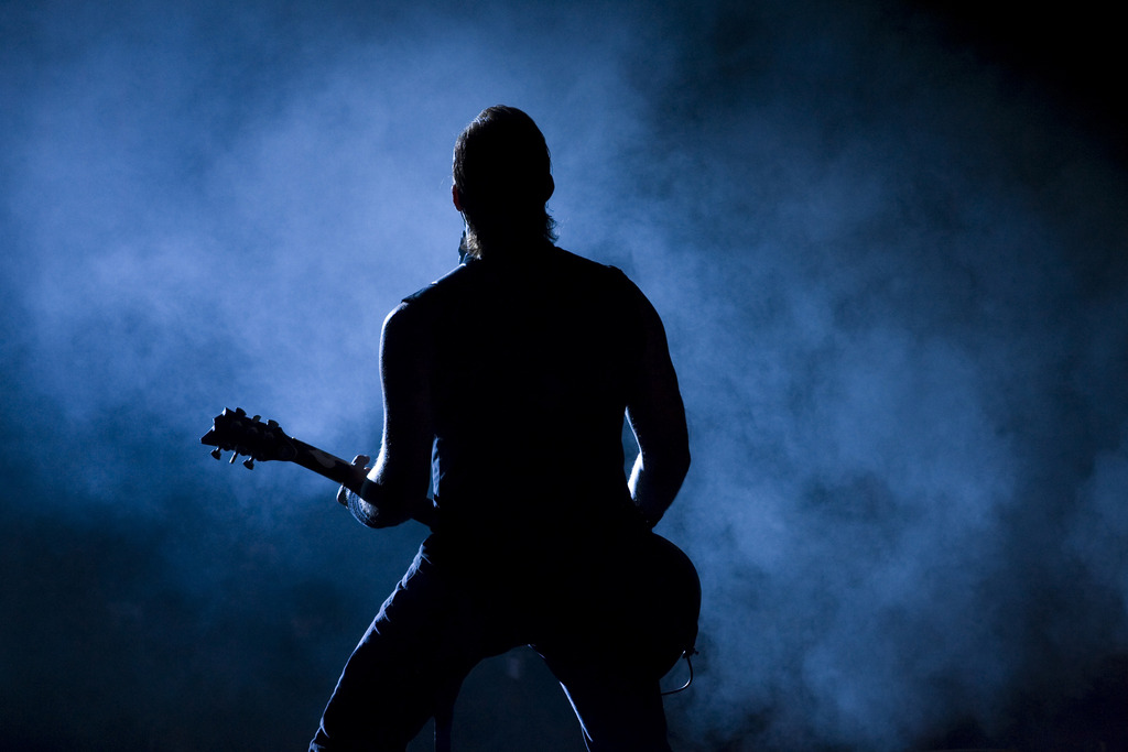 James Hetfield in Berlin, Deutschland (Keystone/AP Photo/Markus Schreiber)
