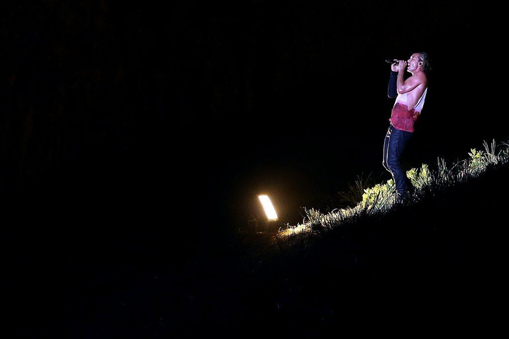 Gavin Rossdale in Vila Nova de Gaia, Portugal (Keystone/EPA/Jose Coelho)