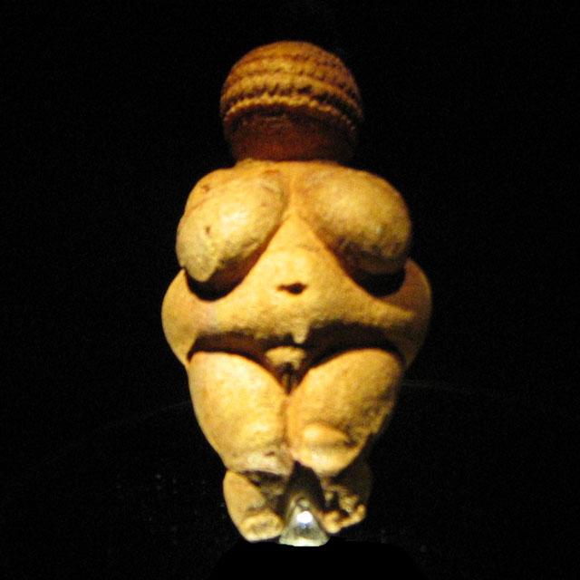 Skulptur 'Venus von Willendorf' (Quelle: Wikipedia)