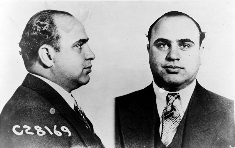 Bild des Al Capone (Quelle: Wikipedia)