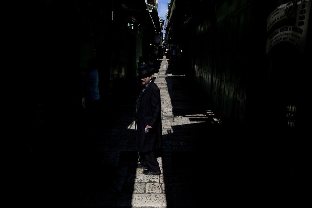 In der Altstadt von Jerusalem (AP Photo/Sebastian Scheiner)
