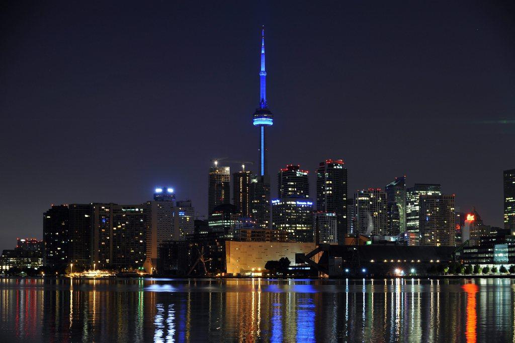 Nächtliche Ansicht von Montreal Kanada EPA/WARREN TODA