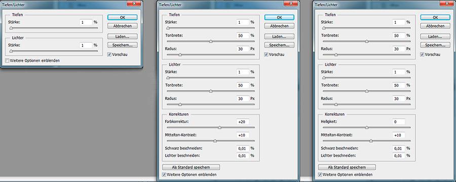 Abb. 5: Fensterdarstellung nach Funktionsaufruf
